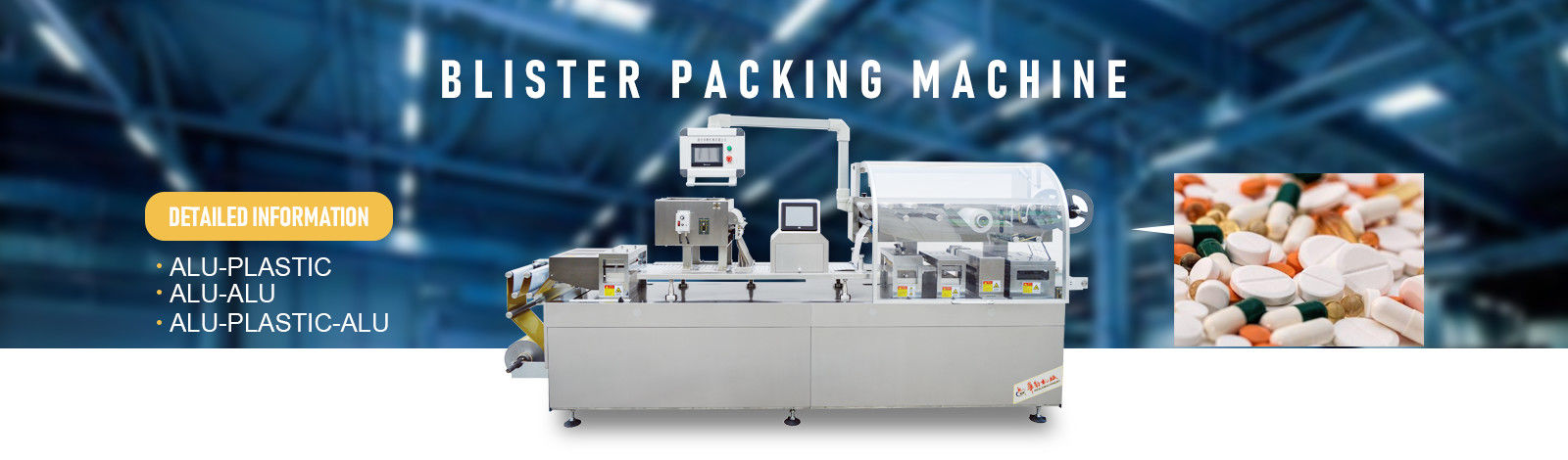 China best automatische blister packing machine op verkoop