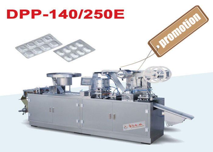 Pharmaceutical Alu Alu Blister Packing Machine for Medicine Bubble Package