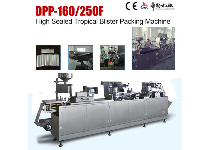 Health Food Tropical Blister Packing Machine Fully Automatic CE Approved